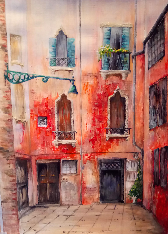 """""""Venetian Courtyard No. 1"""""""