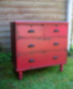 Deep Red Chest of Drawers.jpg
