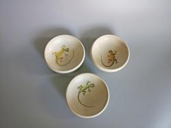 3 x Gecko Bowls