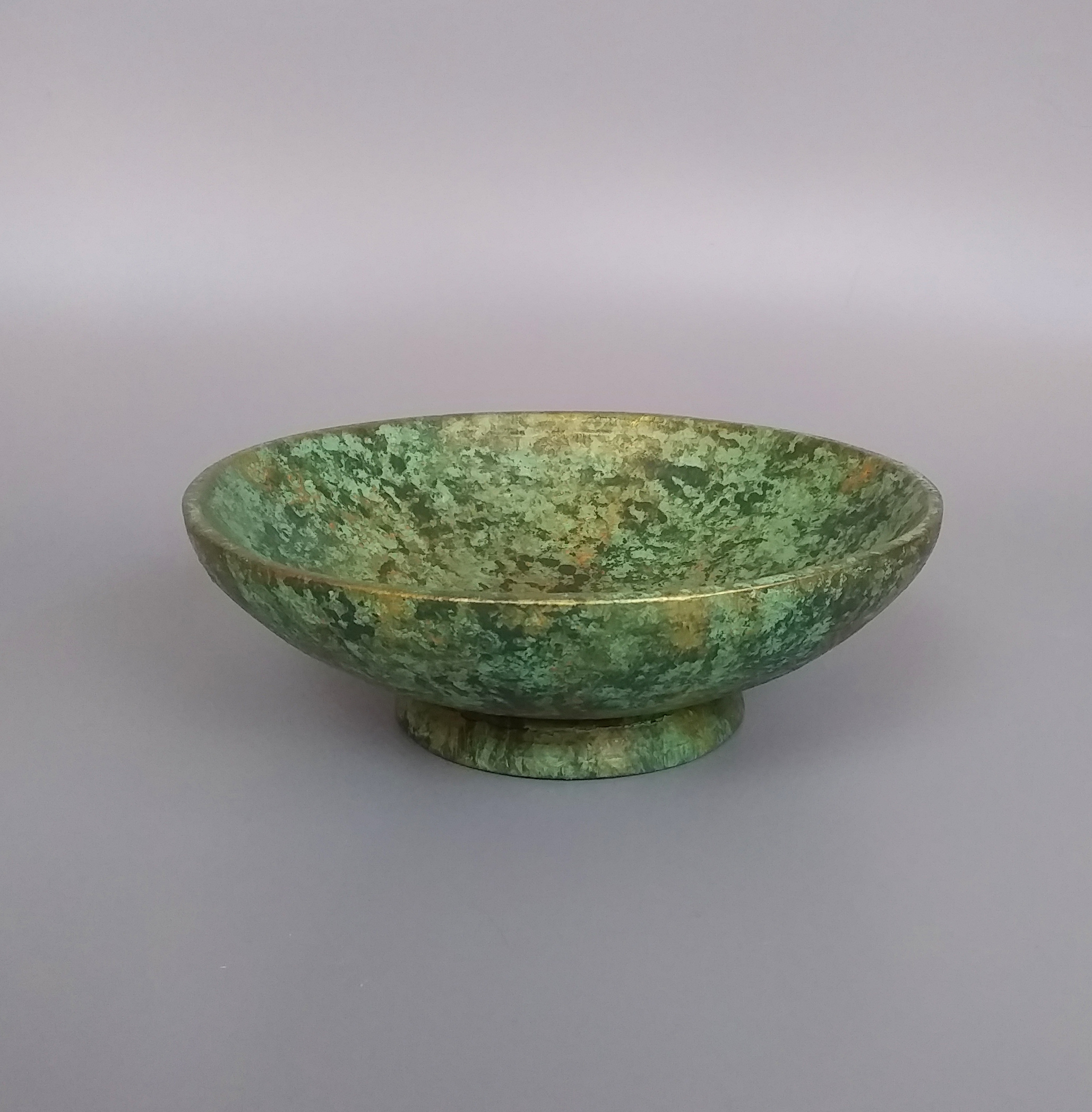 Green Gold Bowl