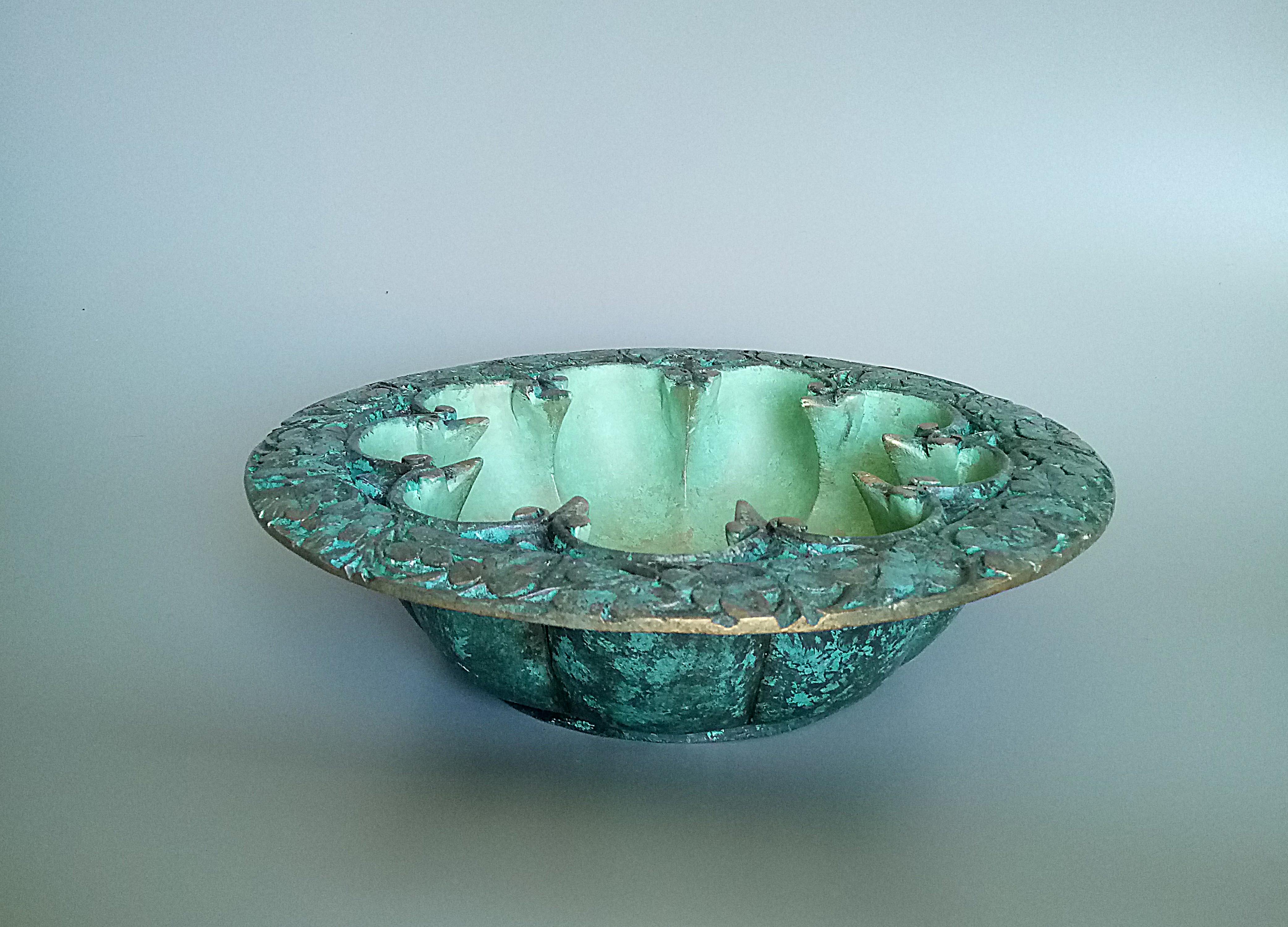 Jade Green Bowl
