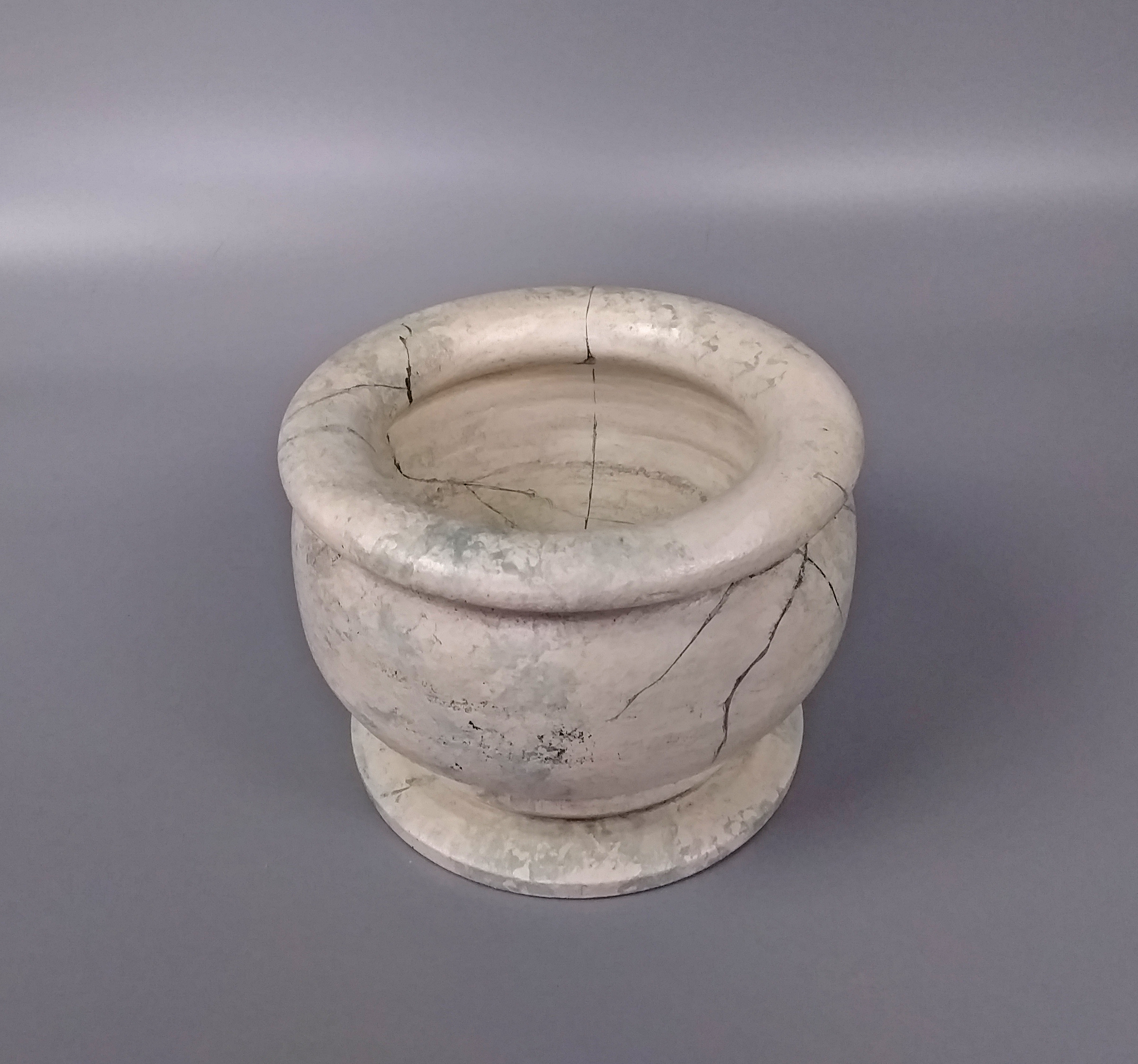 Cracked Marble Effect Bowl