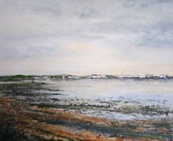 """""""Late Afternoon in March - Langstone"""