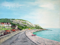 """""""Chesil Cove - Late Afternoon in May"""