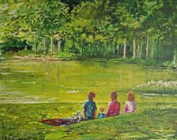 """""""Picnic at the Green Lake"""""""