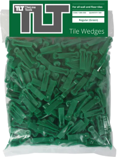 Green Tile Wedges