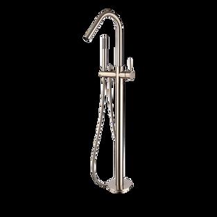 Star Freestanding Bath Mixer Brushed Nickel 1024.5mm(H)
