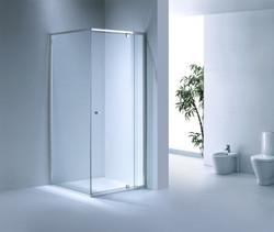Semi Frame-less Pivot Door Shower Screen