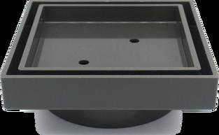 UPVC Tile Insert Point Drain - Grey