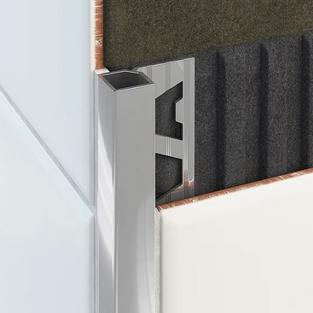 Square Aluminium Angle - Bright Silver