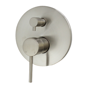 Benalla Star Shower Diverter Brushed Nickel