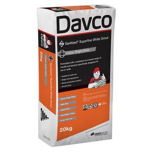 Davco Superfine White Grout