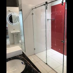 Sero Semi Frame-less Wall-To-Wall Sliding Door Shower Screen
