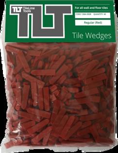 Red Tile Wedges