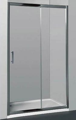 Wall-To-Wall Sliding Door Shower Screen