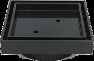UPVC Tile Insert Point Drain - Black