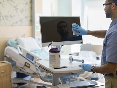 HP Introduces germicide-resistant computers for hospitals