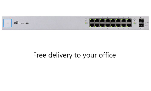 16-Port Small Business Managed Network Switch w/ PoE