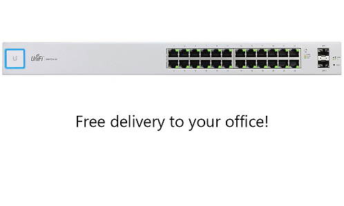 24-Port Small Business Managed Network Switch