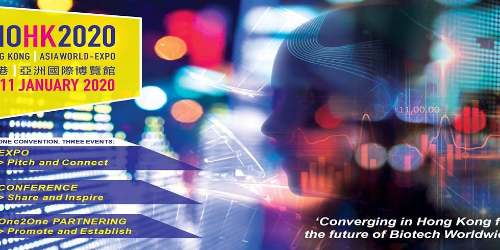 2020香港國際生物科技展 BIO HK 2020