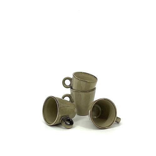 Trendy Espressokopjes (beige)