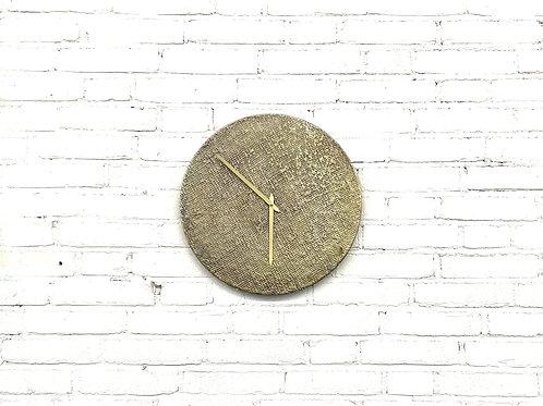 Klok, bronskleurig