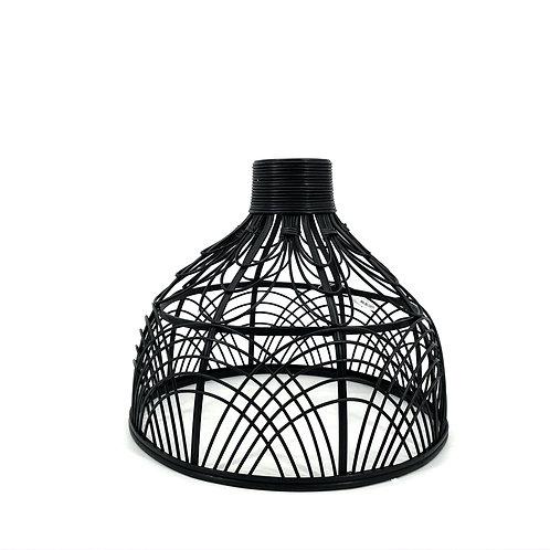Zwarte rotan hanglamp, Light & Living