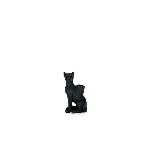 Kaarsenhouder zwarte panter