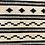 Thumbnail: Vloerkleed zwart/wit motief