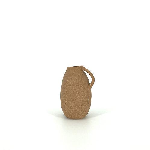 Hand gemaakte ruwe vaas/waterkan van steen