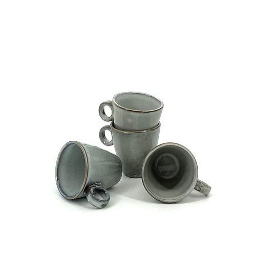 Trendy Espressokopjes (grijs)