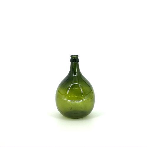 Glazen vaas groen glas