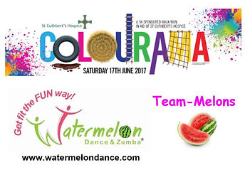 Team-Melons 2017 St Cuthberts Colourama 5K run