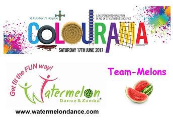 Team-Melons 2017 St Cuthberts Colourama 5K run