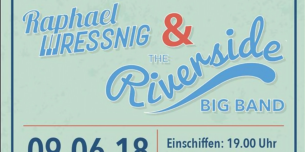 """The Riverside Big Band live at """"Tieschen by Boat - Dance like a Captain"""