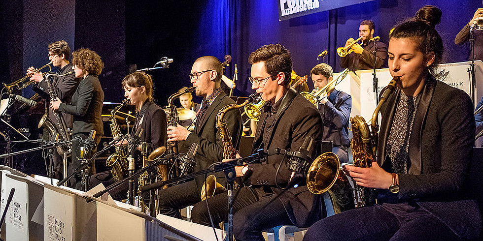 MUK Jazz Orchestra plays students compositions