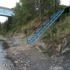 The Famous Blue Stairs