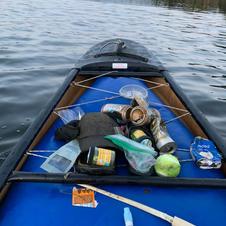 KYD Fall Clean up at Twin Lake