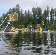 Polo On Twin Lake