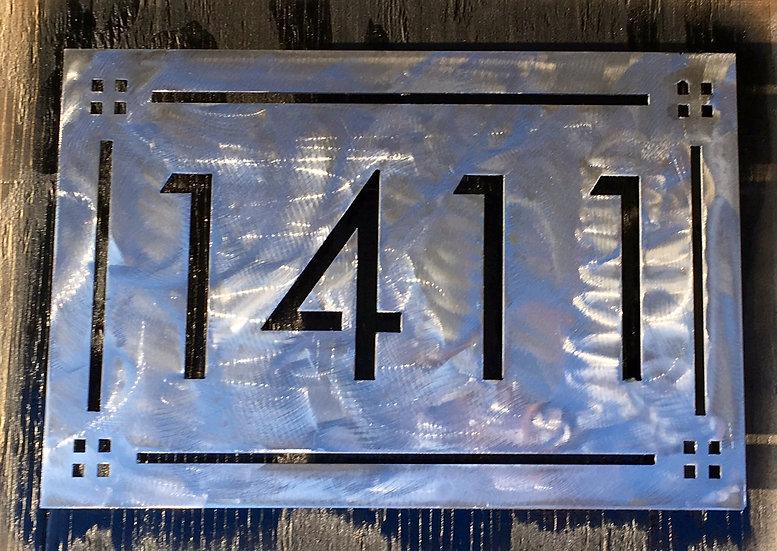 Craftsman Address Plate