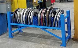 Tube Press Plate Rack