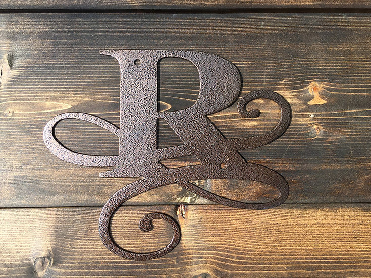 """R"" Small Flourished Letter"