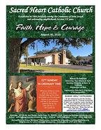 2020-0830 Sacred Heart Bulletin ONLINE_P
