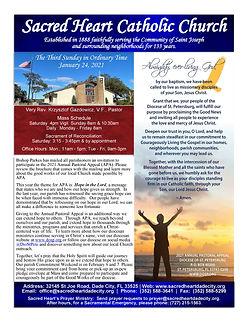 2021-0124 Sacred Heart Bulletin ONLINE_P