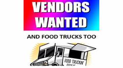 vendors and food trucks