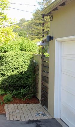 Front yard rainchain