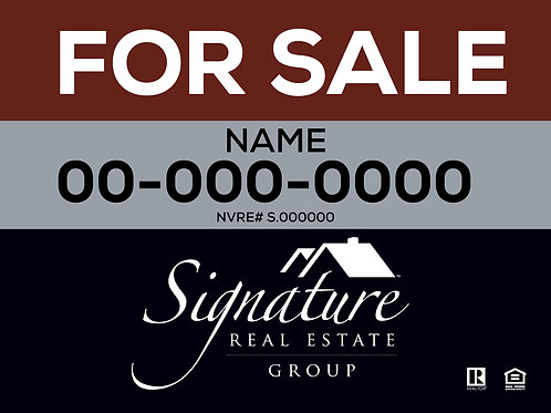 Signature Real Estate I FOR SALE I 24x18