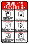 COVID-19 Prevention Sign