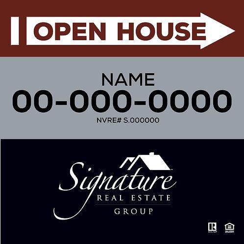 Signature Real Estate I OPEN HOUSE I 24x24