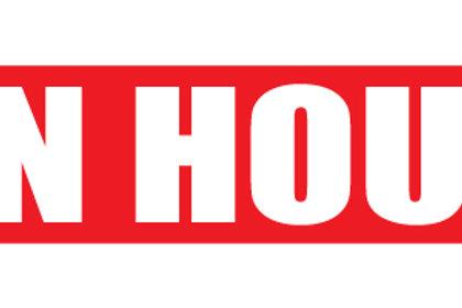"Open House 24""X6"""